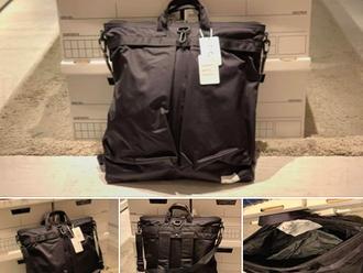 【再度上架 RESTOCK・F/CE. SATIN HELMET BAG - BLACK】