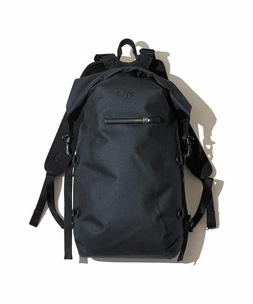 F/CE. No Seam Zip Lock Backpack - Black