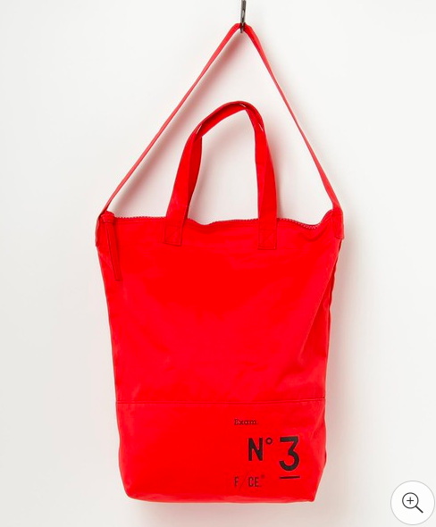 F/CE. No.3 News Paper Bag - Red