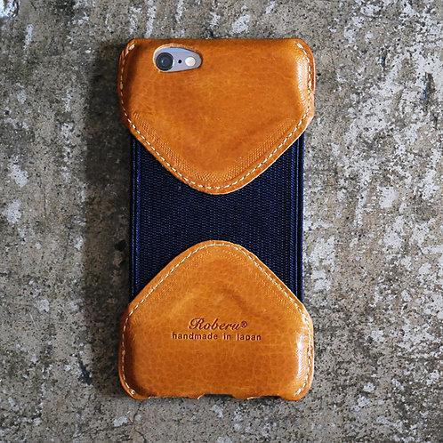 Roberu iPhone 6 / 6s Case - Camel/Navy