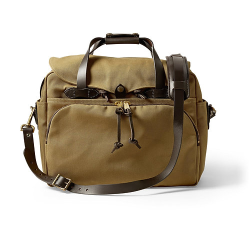 Filson Padded Computer Briefcase - Tan