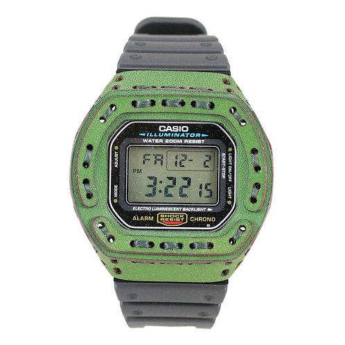 Armadillo DW-5600 Leather Case - Green