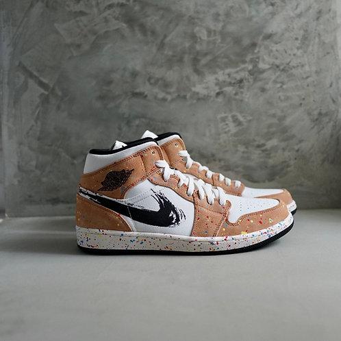 Nike Air Jordan 1 Mid SE Brushstroke