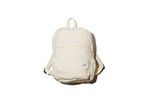 F/CE. Wash Nylon Packable Day Pack - White