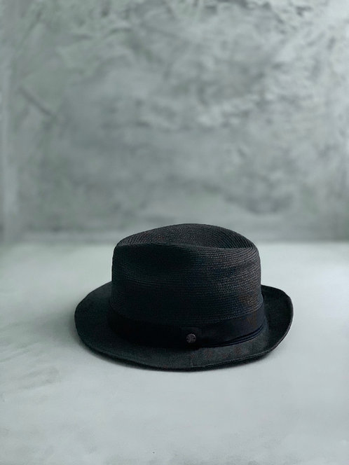 Morno Brade × Paper Cloth Hat - Black