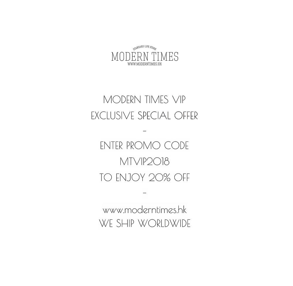 MODERN TIMES VIP