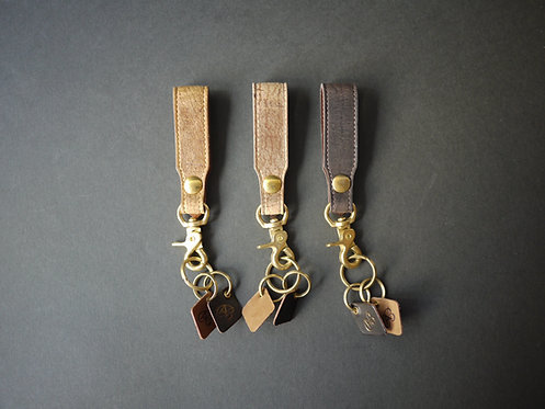 Anchor Bridge Kudu Leather Key Holder - T. Hook