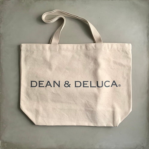 Dean and Deluca Canvas Tote Bag - Natural