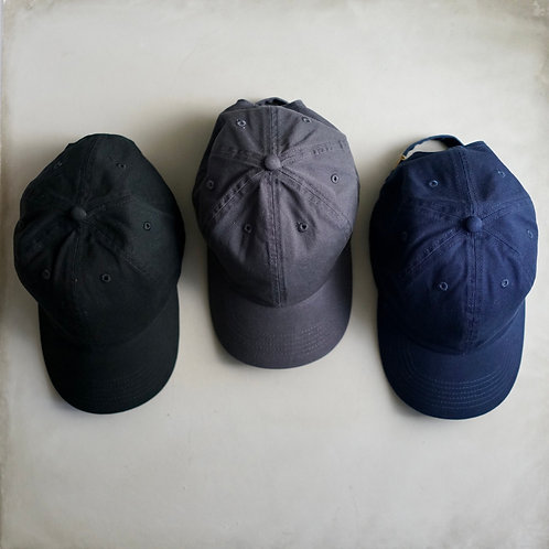 Twill Baseball Cap - Black / Navy / Charcoal