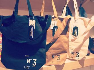 【NEW ARRIVAL · F/CE. NO. 3 NEWS PAPER BAG】