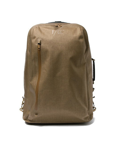 F/CE. No Seam 2 Way Trolley Case - Camel
