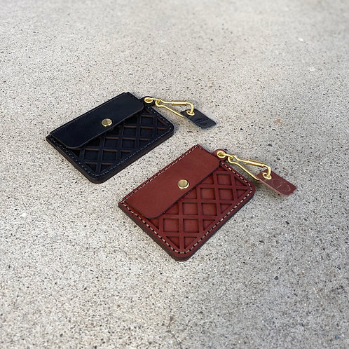 Armadillo Leather Card Case