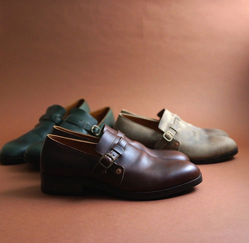 Anchor Bridge Engineer Shoes - Brown