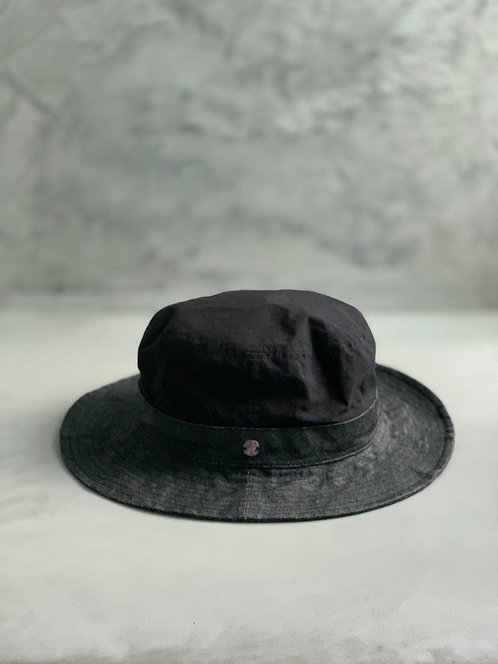 Morno Paper Cloth × CL Weather Hat - Black