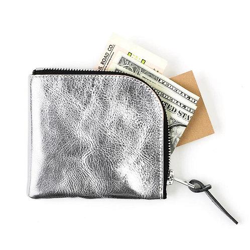Anchor Bridge Baby Buffalo Leather Zip Wallet