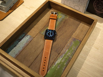 【HANDMADE IN ITALY 🇮🇹 ALTRA PELLE APPLE WATCH LEATHER STRAP】