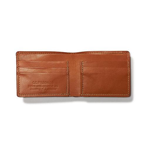Filson Bridle Leather Bi-fold Wallet - Tan