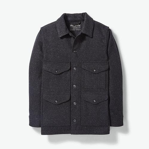 Filson Mackinaw Wool Cruiser Jacket - Charcoal