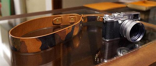 Anchor Bridge Camouflage Leather Belt Camera Strap