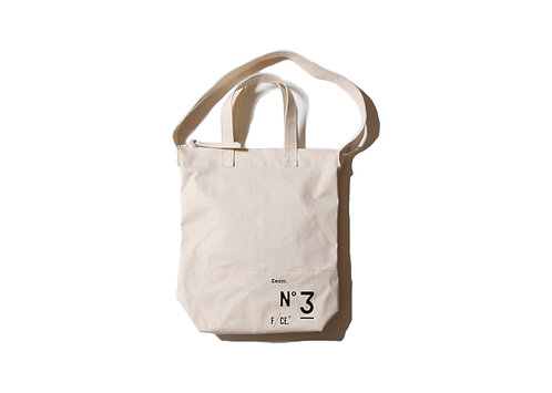 F/CE. No.3 News Paper Bag - Ivory