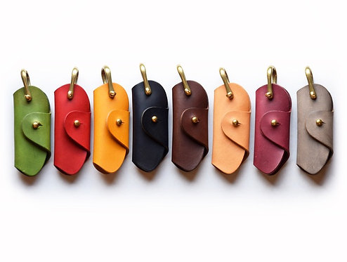 Roberu Italy Vachetta Leather Key Holder