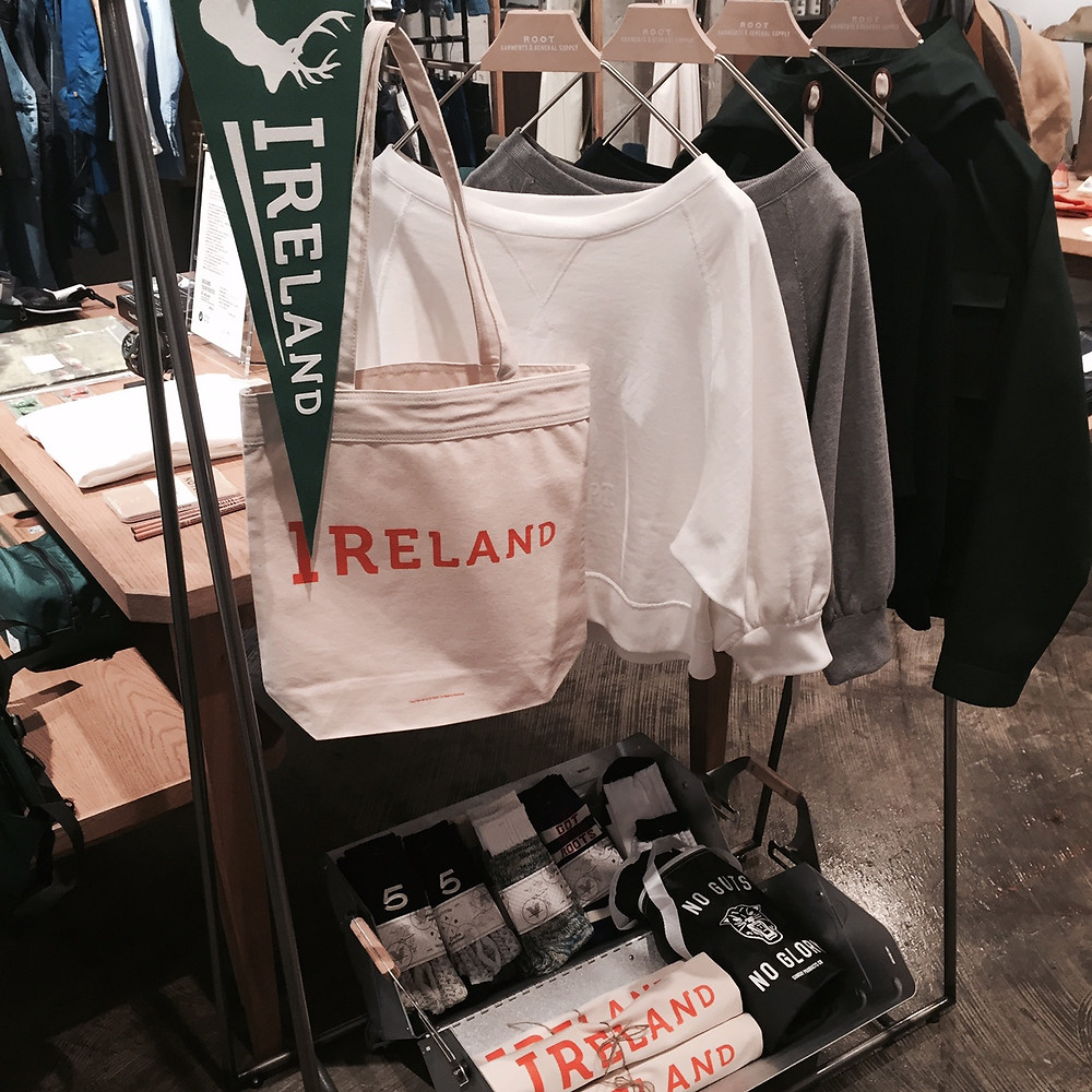 "Ficouture​ ""Ireland"" Tote Bag Set"