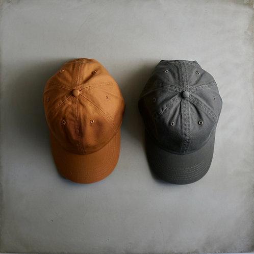 Twill Baseball Cap - Olive / Copper