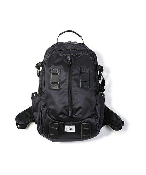 F/CE. Satin Travel Backpack 33L - Black