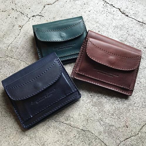 Roberu Italy Vachetta Leather New Compact Wallet