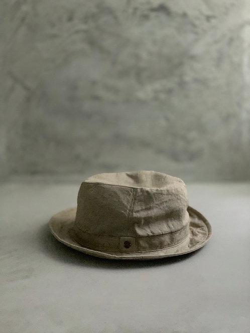 Morno Linen Wash Soft Hat - Beige