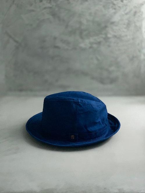 Morno Linen Wash Soft Hat - Navy