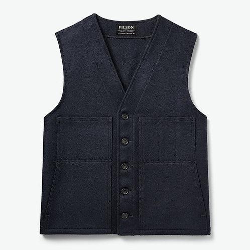 Filson Mackinaw Wool Vest - Navy