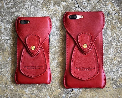 Roberu New iPhone  7 / 7P / 8 / 8P Case All Red