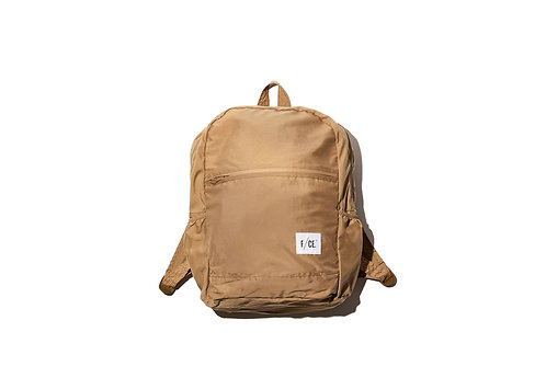 F/CE. Wash Nylon Packable Day Pack - Beige