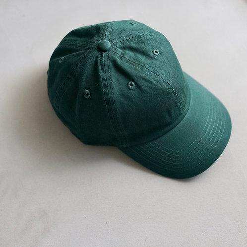Twill Baseball Cap - Dark Green