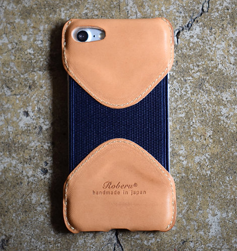 Roberu Italy Leather iPhone 7 / 8 Case - Natural