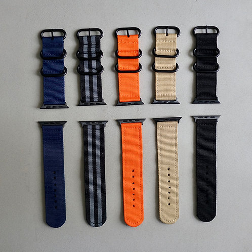 Apple Watch Nylon Strap 24mm + Apple Watch 42/44mm Adaptor
