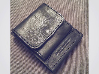 【NEW ARRIVAL.ROBERU ITALY LEATHER BILL & COIN WALLET】