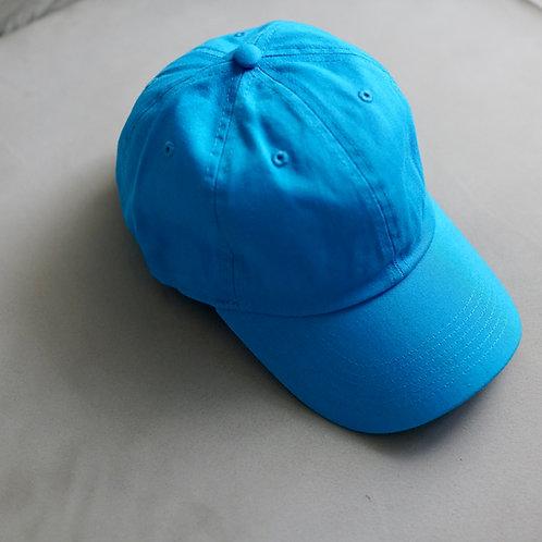 Twill Baseball Cap - Turquoise