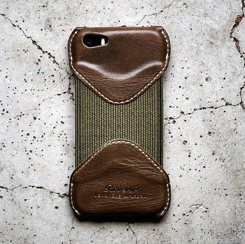 Roberu iPhone 5s/SE Case - Olive