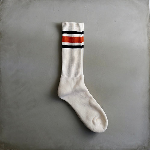 Decka 80's Skater Socks - Orange