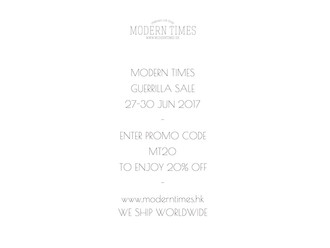 【MT GUERRILLA SALE 28-30 JUN 2017】