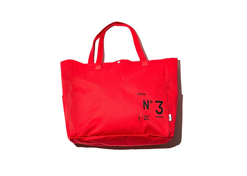 F/CE. No.3 Big Tote - Red
