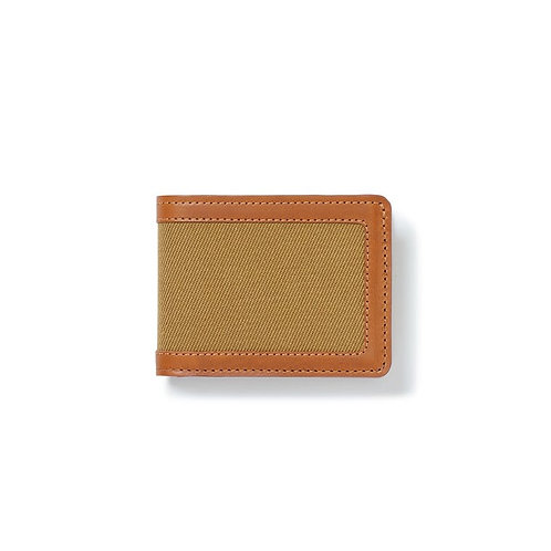 Filson Rugged Twill Outfitter Wallet - Tan