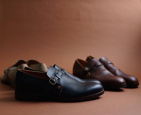 Anchor Bridge Engineer Shoes - Black