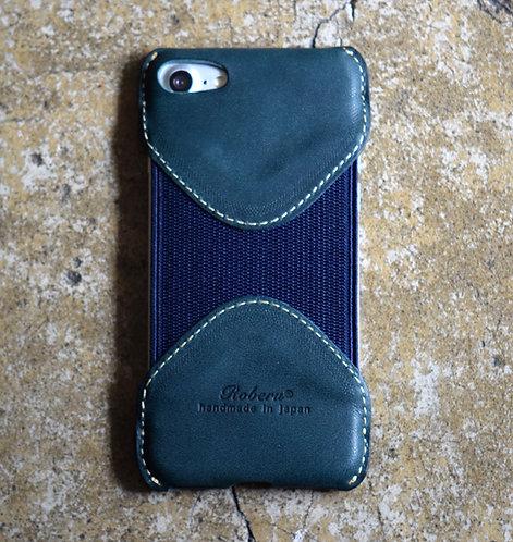 Roberu Italy Leather iPhone 7 / 8 Case - Deep Green