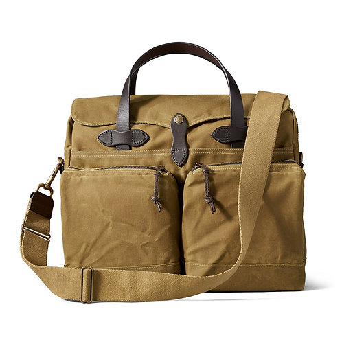 Filson 24 Hour Tin Briefcase - Tan