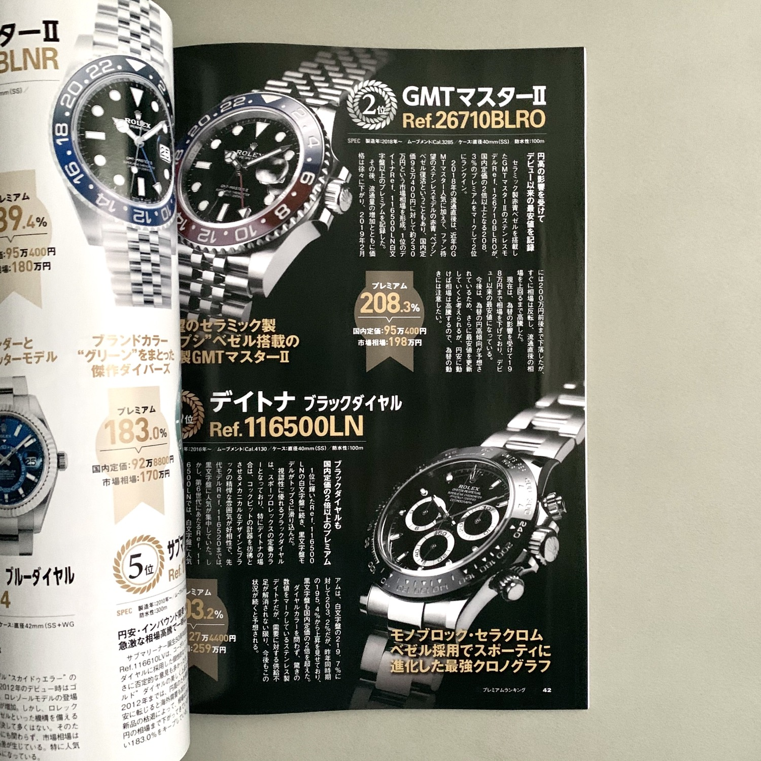 Thumbnail: Rolex Special Book 2019-2020 Winter