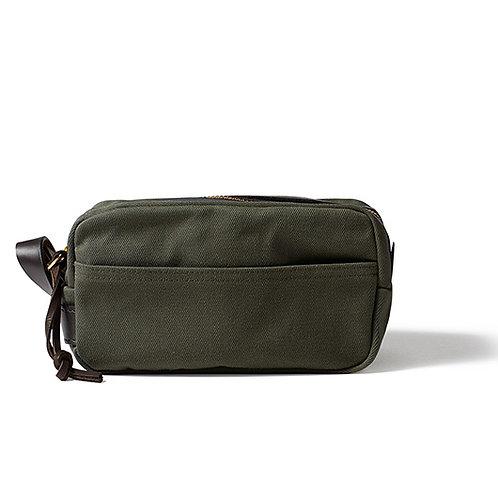 Filson Rugged Twill Travel Kit - Otter Green