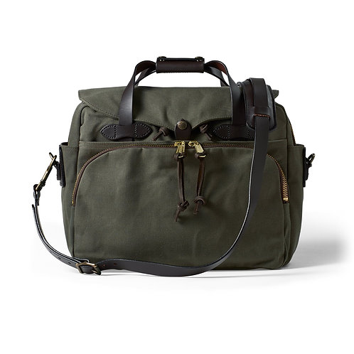Filson Padded Computer Briefcase - Otter Green